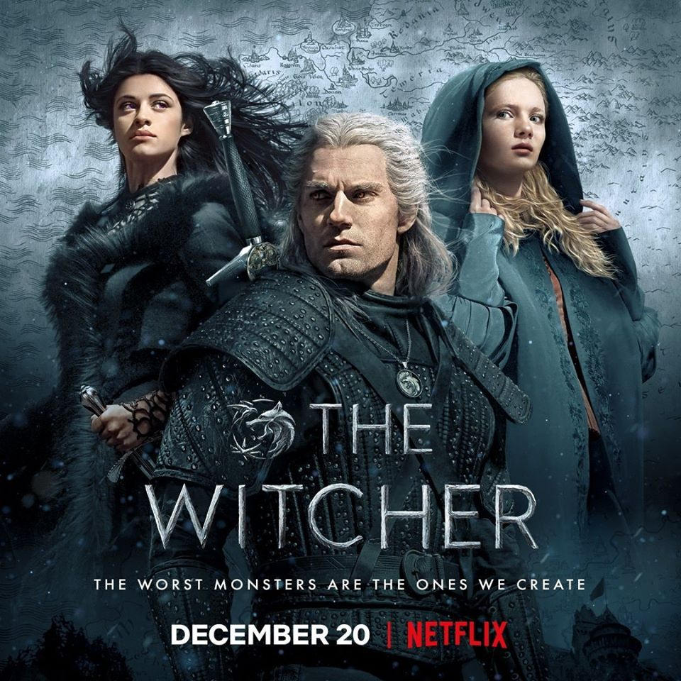 Póster Oficial The Witcher