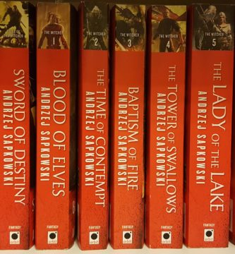 Orbit libros de The Witcher